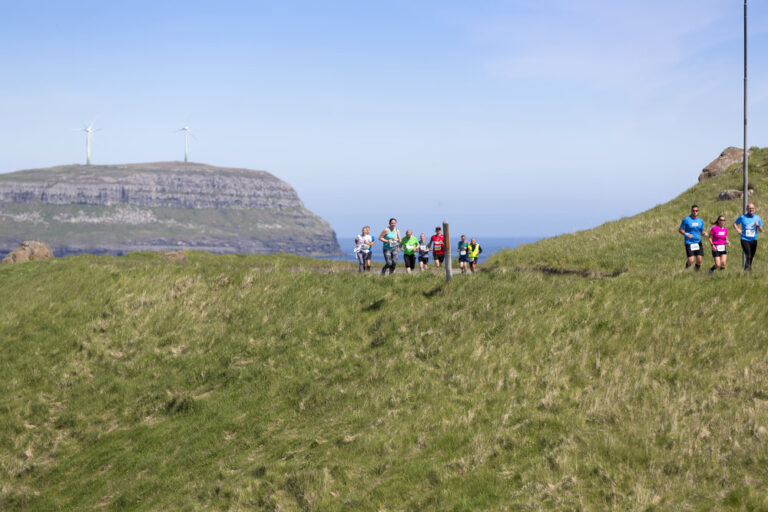 The Atlantic Airways Tórshavn Marathon Course