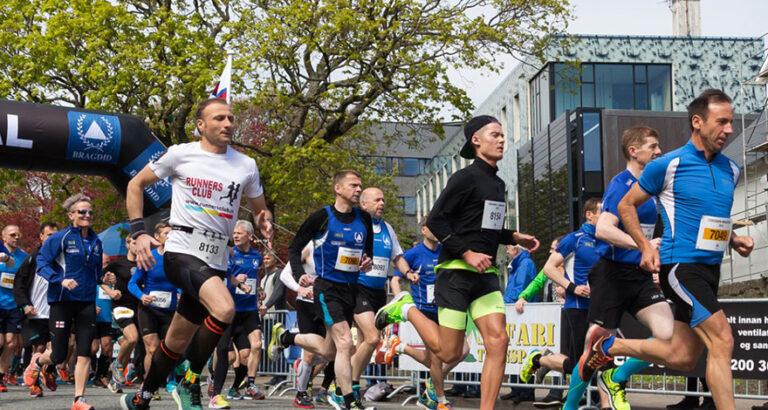 Tórshavn Marathon on 12 June 2022